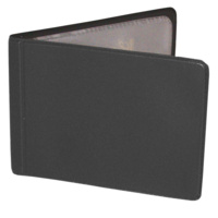 Business Card Holder Black holds 12 cards Waterville W71
