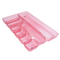Drawer Organiser Metro FROSTED 3440 Strawberry Metro 234400 - each