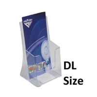 Brochure Holder 1/3 A4 DL 1 compartment I551 - each
