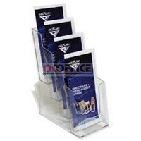 Brochure Holder 1/3 A4 DL 4 compartment */* I556 - each