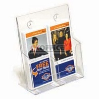 Brochure Holder 1/3 A4 DL 2 compartment I557 - each