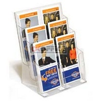Brochure Holder 1/3 A4 DL 6 compartment I558 - each
