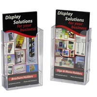 Deflecto DL Linking Wall Mount Brochure Holder 39512 - each