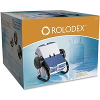 Rotary Business Card Files 400 card Rolodex 67236 - each