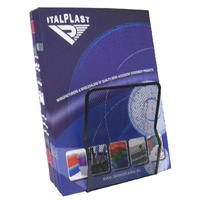 Book Ends Italplast I344 Metal Mesh Black - set