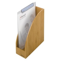 Magazine Rack Rexel Bamboo 2102371 - Melbourne only limited stock