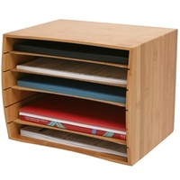 Desk Sorter Rexel Bamboo 2102374 - not normally stocked - discount for 2 or more