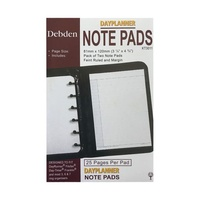 Diary Refill Dayplanner Pocket Organiser Lined Pad KT3011 - each