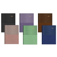 Diary 2018 VANESSA A53 385 A5 WTO WIRE-O BOUND 385V99 Assorted colours Collins