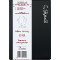 Diary 2018 Upward 7221 A5 Standard PVC Sewn Day To Page