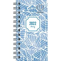 Diary 2018 Upward 6436 A6/A7 Wire Week To View Assorted Design