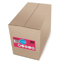 Envelopes 324x125mm C4 B6 White Cartridge Heavyweight 140192 - box 500