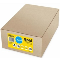 Envelopes 210x135mm Gold Kraft Recycled Pocket Gummed Moistseal 140155/116058 Box 500
