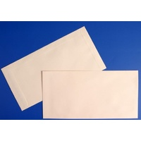 Envelopes 280x130 Manilla Moist Seal Pocket Tudor - pack 50