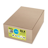 DLX Envelopes 120x235  White Moist Seal Secretive Tudor 140355 - box 1000