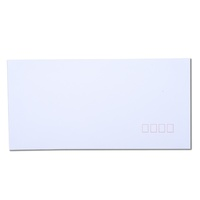 Envelopes 110x220 DL White PS Peel N Seal Secretive Post Office Squares - pack 50