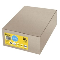 Envelopes 220x110 Kraft Gold Pocket Peel N Seal - box 500