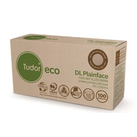 Envelope DL Tudor Eco 100 Percent Recycled Paper Peel N Seal 140067/114315 Box 100