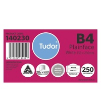 Envelopes 353x250 B4 White PS Peel N Seal Tudor 140230 - pack 250