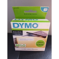 Dymo Label Multi Purpose 19mm x 51mm White Box 500 Labels 11355