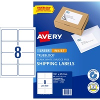 Label Avery Internet Shipping Label 8up 959403 Pack 10