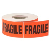 Avery  Fragile  label 75x130mm Roll 937900