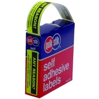 Labels Reminder Any Reason Quik Stik 19x64 80252P - box 125