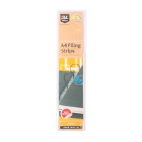 Filing Strip 3L A4 295mm 50 Strips 8804-50 - Peel off and stick to you magazine to file in a binder self adhesive