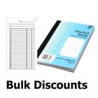 Book Docket Book 8x5 Duplicate 8 Olympic 08381 - per book 140889