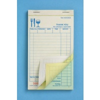 Restaurant Docket Book Carbonless Triplicate  SM Type  15T Zions