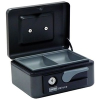 Cash Box  6 inch Deluxe Soft Touch Lever Graphite Concord