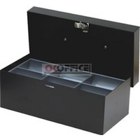 Cash Box 10 inch Standard BLACK Concord 374106 - each