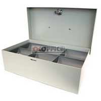 Cash Box 10 inch Standard Grey Concord 374105 - 260 x 133 x 90mm