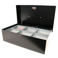 Cash Box 12 inch Standard BLACK Concord 374126 - each