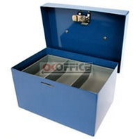 Cash Box  6 inch Standard Blue Concord 374068 - each