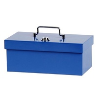 Cash Box  8 inch Standard Blue Concord 374088 - each