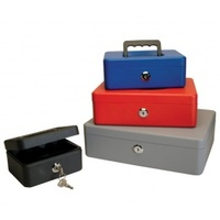 Cash Box 12 Helix Fortress Red WA4060 - each