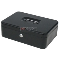 Cash Box 12 Inch Black - Italplast Metal