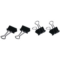 Foldback Clips 19mm Esselte No 1 40815 Box of 12