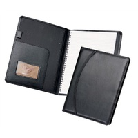 Compendium A4 Waterville Pad and Diary Cover WFNBA4 Black