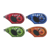 .Correction Tape Osmer Mouse Colours 8M x 4.2mm OCT400
