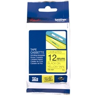 Brother TZe631 12mm Black On Yellow Brother TZ-631 P-Touch - each