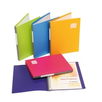 Display Book Marbig Refillable Assorted Summer Colours 2002699A - each