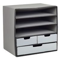Flexi Stor 5 shelf Grey Marbig 80025 - each