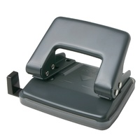 Punch 2 hole -> 10 sheet punch Charcoal Open 10 430837 - each