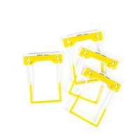 Tubeclips Box 500 Yellow Avery 44001 3 piece file fasteners * bulk pricing