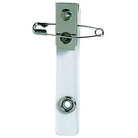 Card Holder Strap with Clip and Pin Rexel 98115 Pack 10