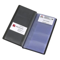 Business Card book Holder Black holds 96 cards Marbig 8703502 - each