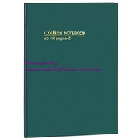 NoteBook A5 A-Z 384 pages A5 Collins 05704 - each