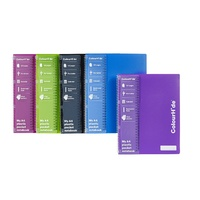 Note Book Marbig Colourhide A4 With Sheet Protectors 1716999 - each
